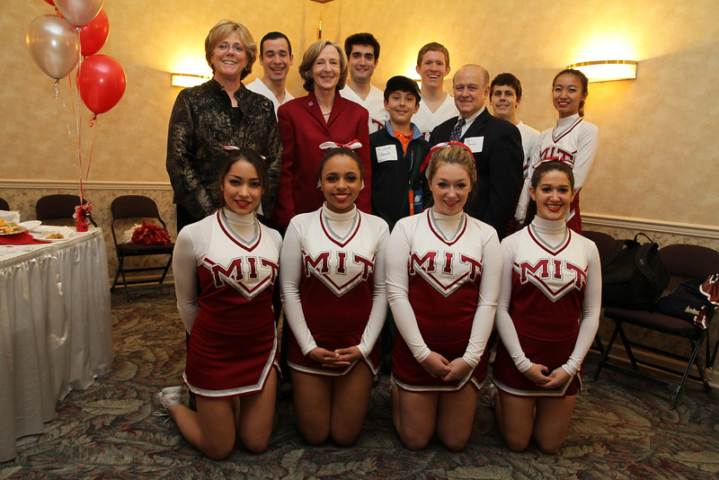 MIT Cheer at the 2012 NCAA Division 3 Championships